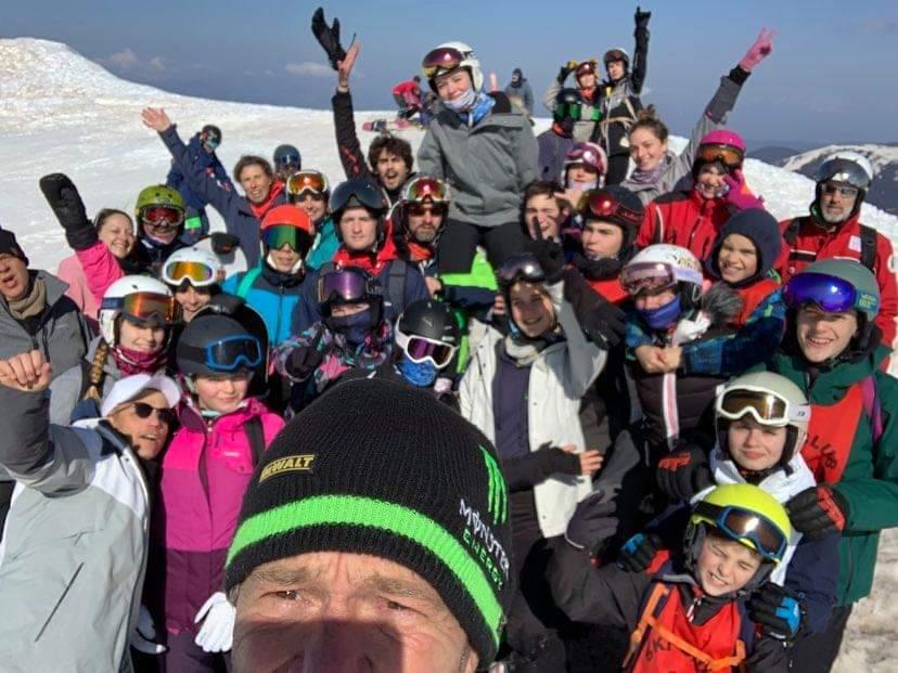 la team snow2 20210306